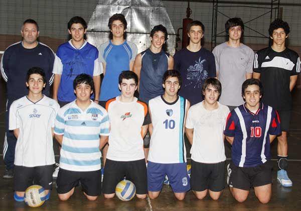La Selección provincial de vóley en el Nacional