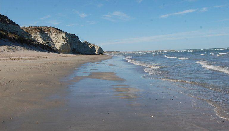 Al sur de Las Grutas se encuentran sectores de playa para descubrir