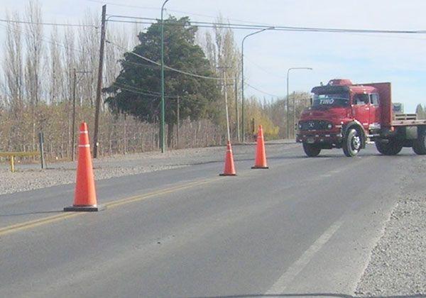 Implementarán medidas de seguridad en cruces de la Ruta 22