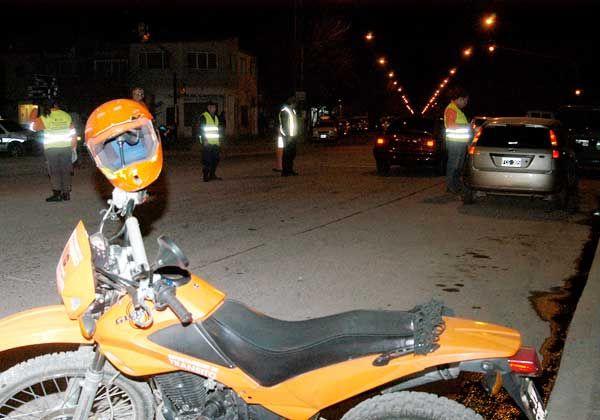 Doce motos secuestradas, 700 en los depósitos