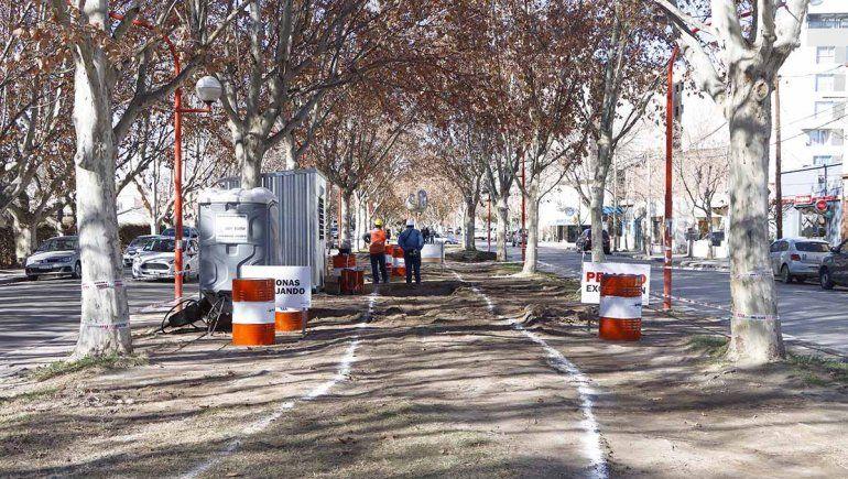 La realización de la ciclovía en la avenida Alem ha despertado una gran controversia en la comunidad.