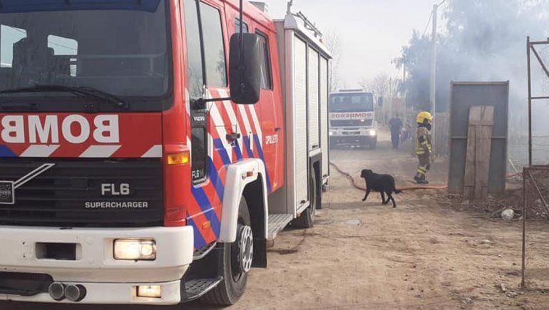 Se prendieron fuego dos viviendas en un día en Cipolletti