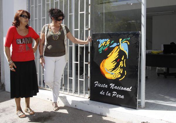 La Comisión de la Fiesta Nacional de la Pera habilitó su oficina