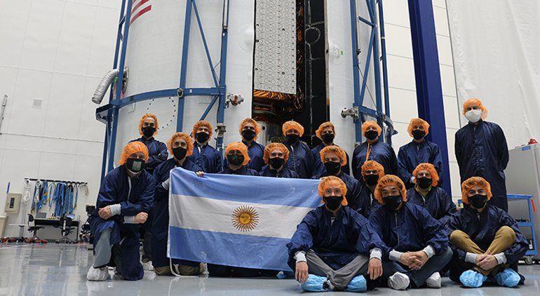 Todo listo para el lanzamiento del satélite rionegrino