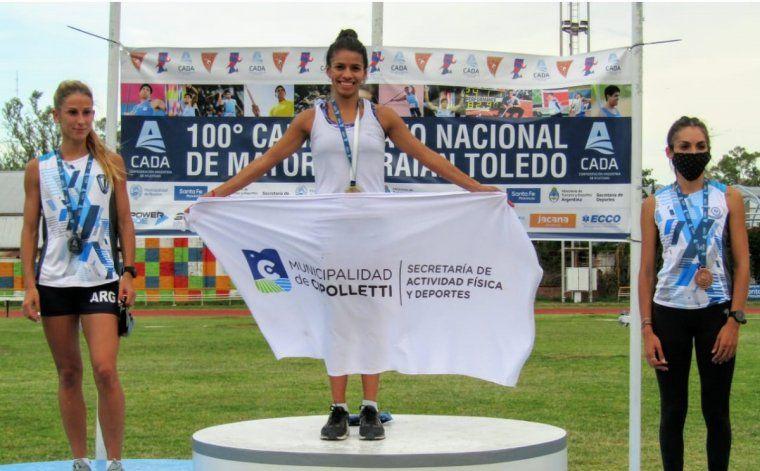 Los días y horarios en los que compite Martina Escudero