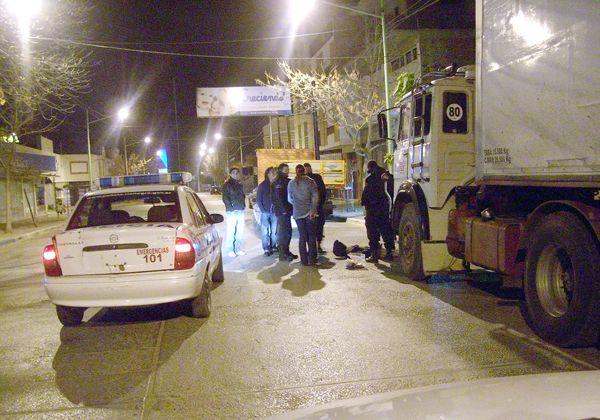 Frustran audaz robo a un camionero
