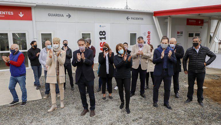 Anticipan la inauguración de un hospital modular en Bariloche