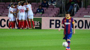 Copa del Rey: El Barcelona irá por la remontada ante el Sevilla