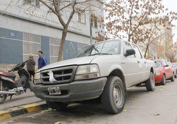 Recuperaron una camioneta robada