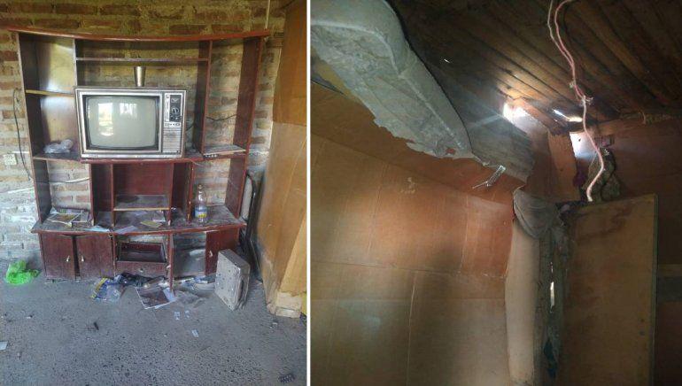 Recuperaron una casa tomada en Nueva Esperanza