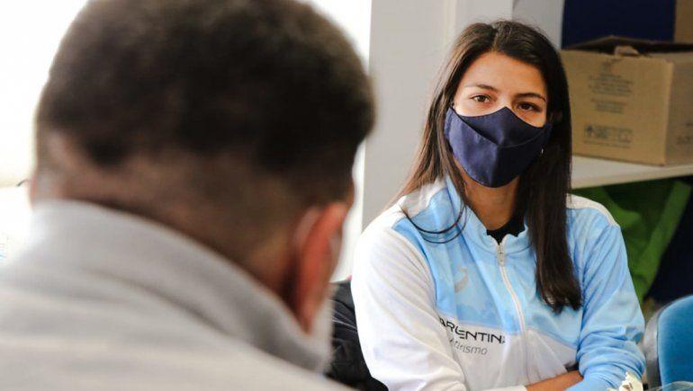 Di Tella recibió a Martina Escudero y se mostró orgulloso por sus logros
