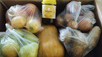 inicio la provision de frutas y verduras a estudiantes rionegrinos