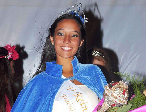 Candela Fernández, nueva reina del trabajador portuario en San Antonio