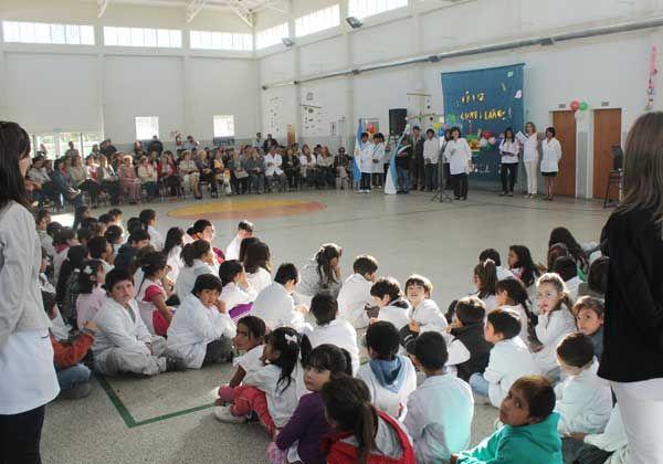 La Primaria 366 festejó con calidez su aniversario