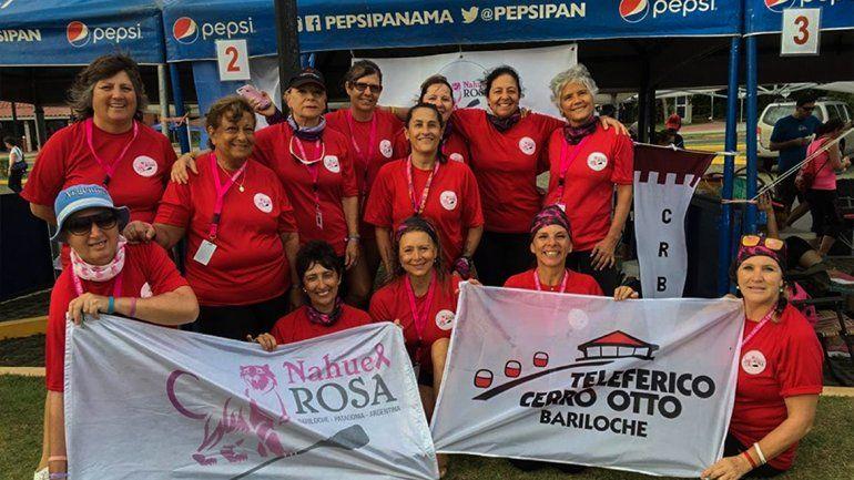 Rionegrinas sobrevivientes de cáncer fueron oro en Panamá