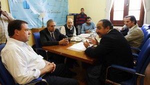 Weretilneck presidió encuentro con autoridades del INAI