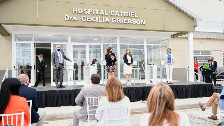 La Provincia inauguró el nuevo hospital de Catriel