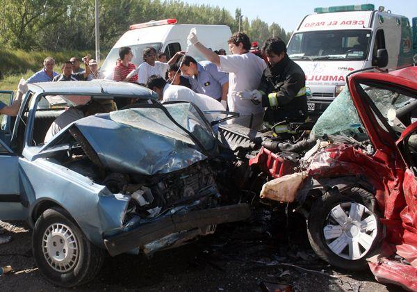 En el 2012 hubo 127 muertes en las rutas de Río Negro