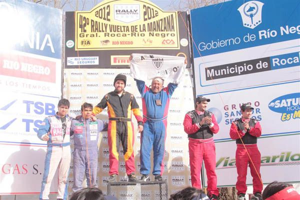 Fernández cumplió un sueño y ganó La Manzana en la A1