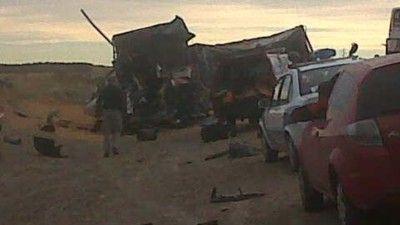 Doce muertos tras grave accidente
