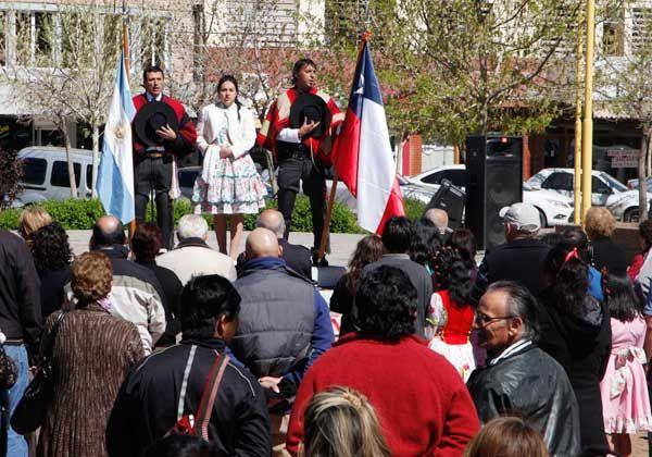 Los chilenos celebraron su fiesta patria