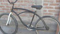 un nene de 12 anos devolvio la bici que habia robado