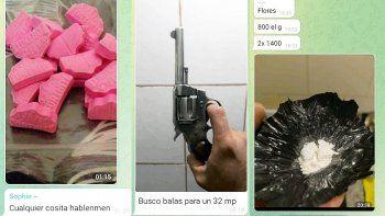 los cipolenos usan telegram para conseguir drogas, armas y sexo