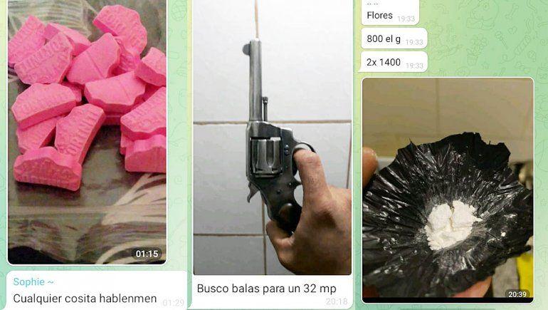 Los cipoleños usan Telegram para conseguir drogas, armas y sexo