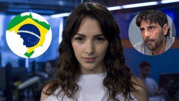 Thelma Fardin: Tengo que perseguir a Darthés por Brasil