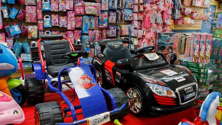 En las jugueterías locales esperan un boom de ventas. El Día del Niño es una de las dos grandes fechas del año.