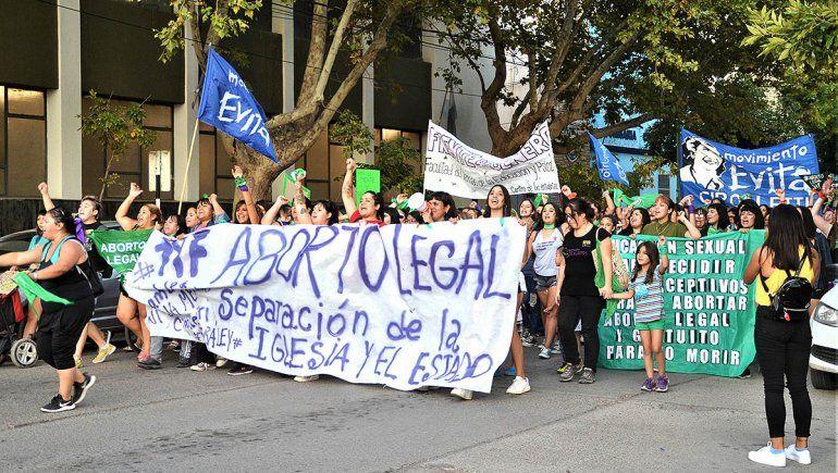 Convocan a una marcha en Cipolletti por el aborto legal