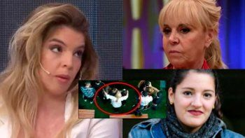 Dalma estalló ante el recuerdo del abrazo de Claudia y Jana en el velorio de Maradona