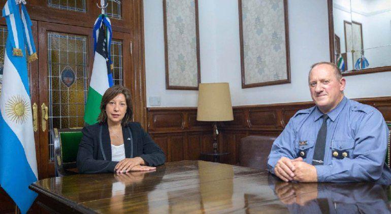 Renunció el jefe de la Policía de Río Negro