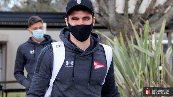 El cipoleño Del Prete pinta para titular en Estudiantes ante Arsenal: Hora y TV