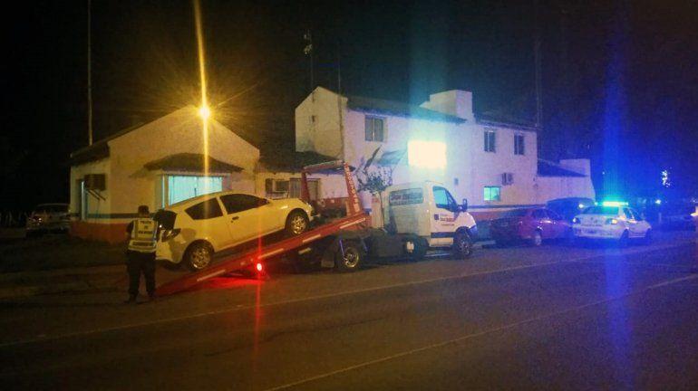 Borrachos en fuga: dos conductores intentaron escapar de un control, pero los atraparon