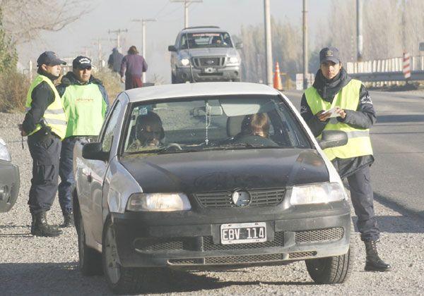 Amenazas a inspector por control de tránsito