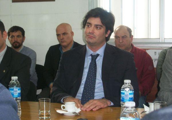 Pichetto habló sobre la situación frutícola provincial