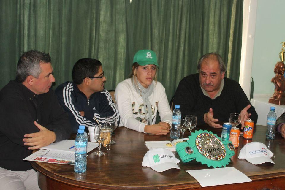 Presentaron la defensa del título de Betiana Viñas en Oro
