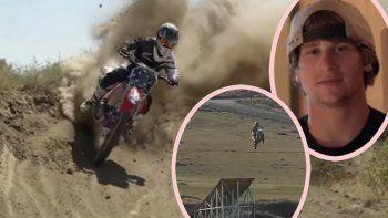 Imágenes sensibles: el trágico salto de la muerte de Alex Harvill