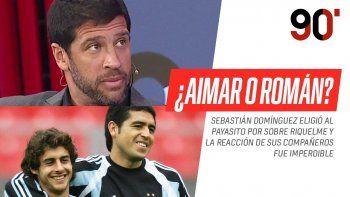 Seba Domínguez desató una inesperada polémica al escoger a Pablito por sobre Román.