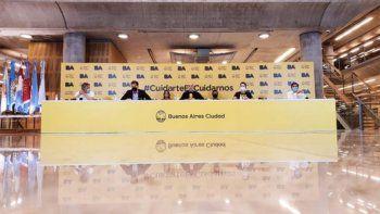 Larreta defendió el operativo policial en el velatorio de Maradona