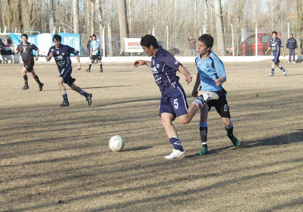 Programa de partidos de la Liga Deportiva Confluencia
