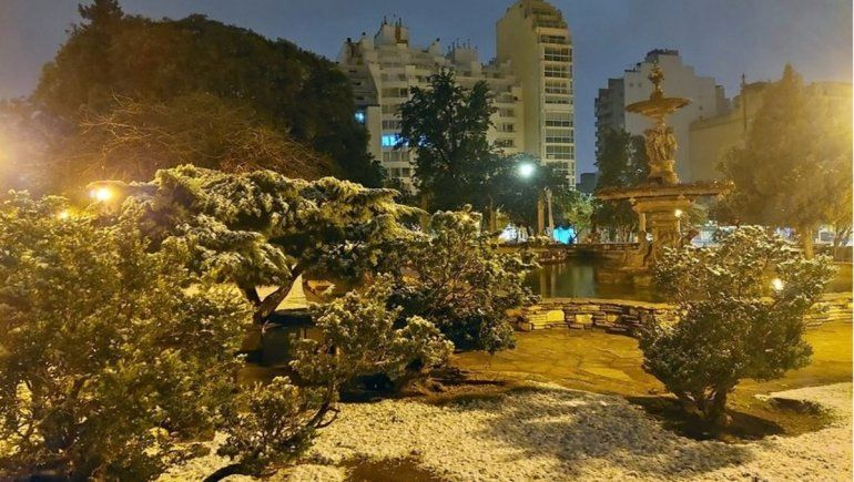 La inesperada nevada en Córdoba dejó memes hasta de Maru Botana