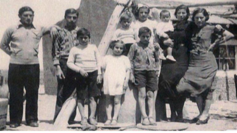 Familia Aiello, los pescadores del lago Pellegrini
