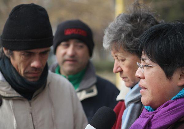 Familiares de víctimas de asesinatos se manifestaron contra la impunidad