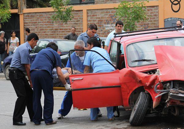Ocho vehículos involucrados en un choque en Cipolletti