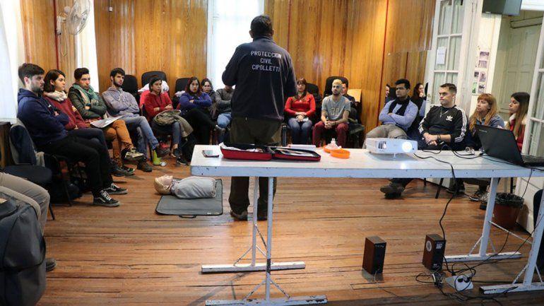 El Municipio sigue brindando cursos de RCP