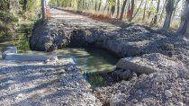 cipolletti: empresa rompio el cano principal de las cloacas