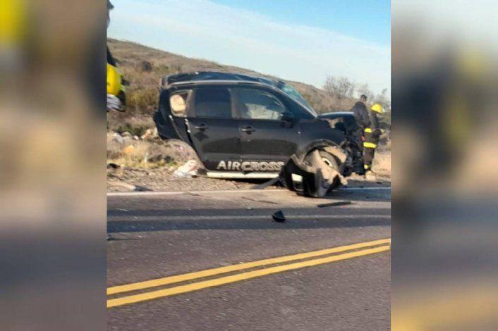 Murieron tres hermanitos en un trágico choque en Ruta 22