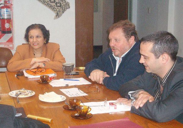 Larreguy se reunió con legisladores de la Concertación